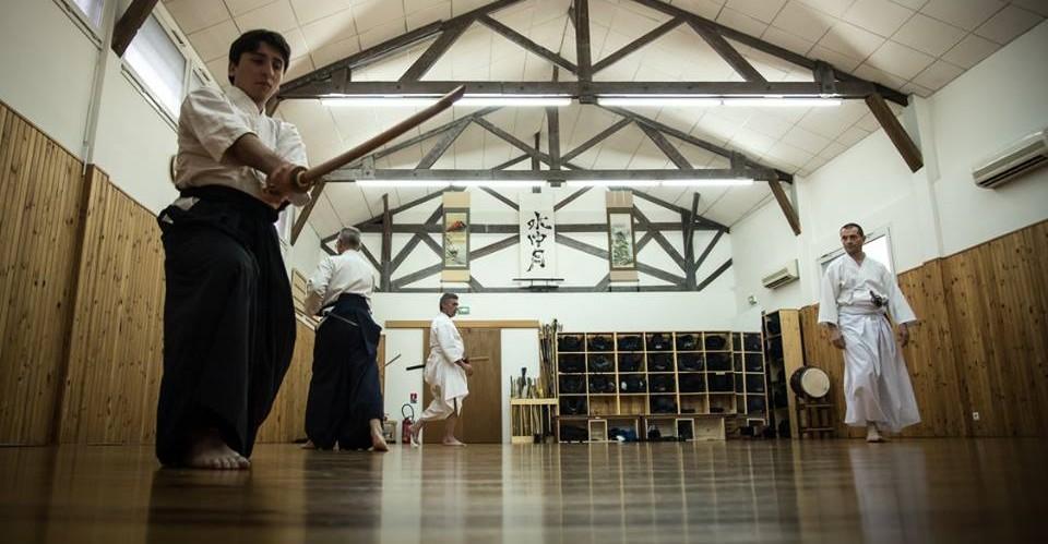 Dojo entrainement Iaido 2