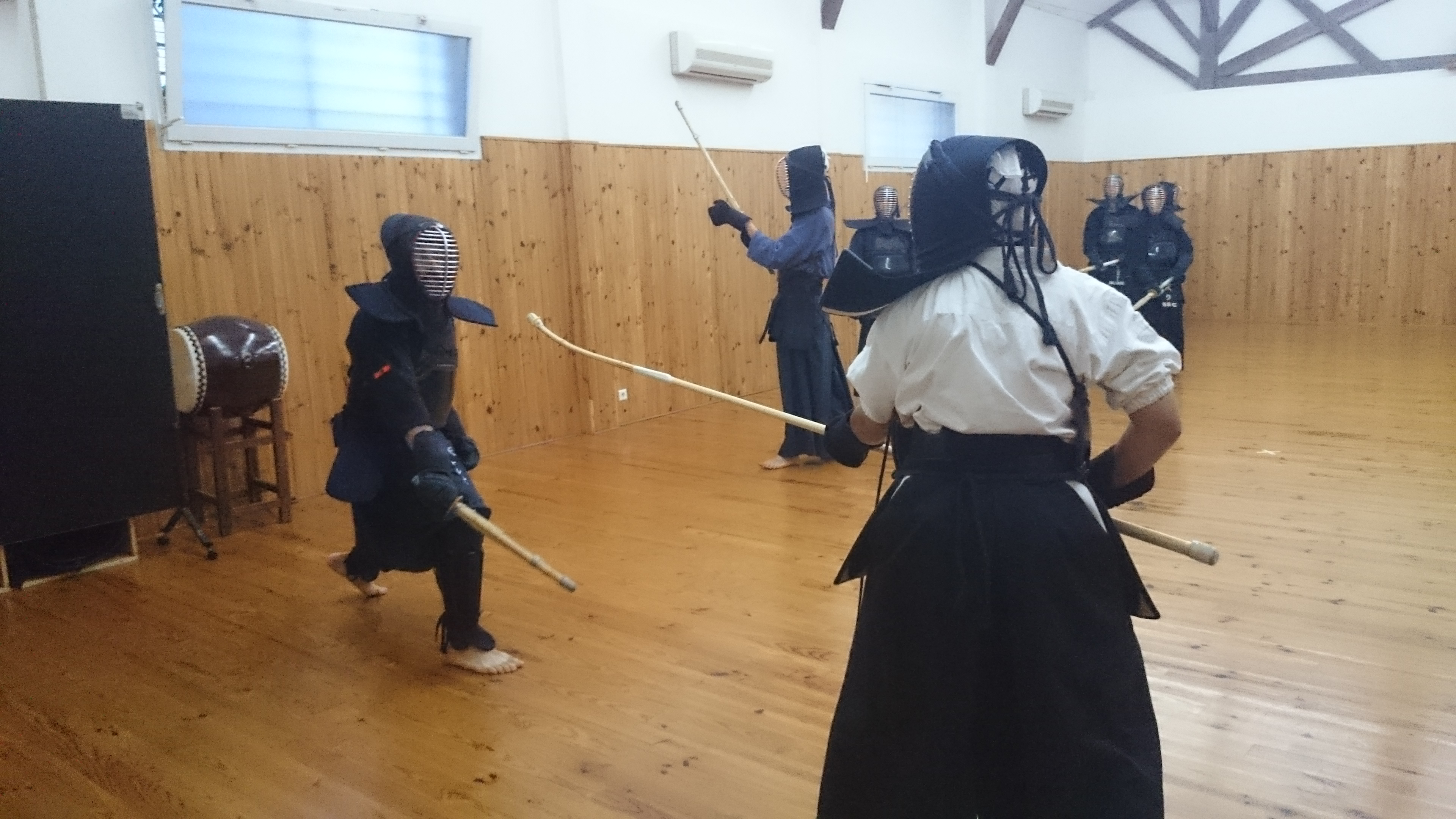 Naginata contre Kendo