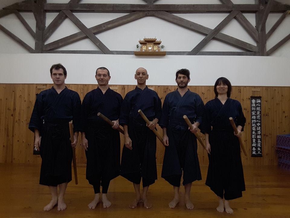 Second stage Hojo no Kata